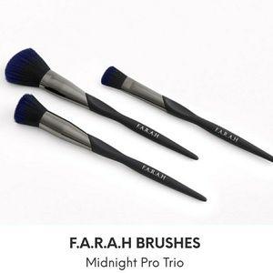 F.A.R.A.H Midnight Trio Brush Set